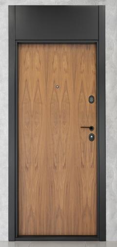Врата от естествен фурнир с Електромеханична брава FIAM Iseo